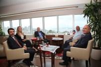 ALTıNOK ÖZ - Metro Group Ve Fiba Group'tan Başkan Altınok Öz'e Ziyaret