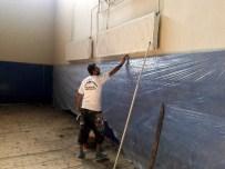 BOKS - Nazilli Spor Salonunun Bakım Onarımı Devam Ediyor