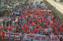 AHMET YıLDıZ - Şanlıurfa'da Binlerden 'Teröre Lanet' Yürüyüşü