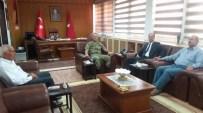 MEHMET YAVUZ - Şehit Aileleri Derneği'nden Tugay Komutanı Köseali'ye Ziyaret