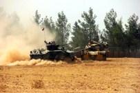 ASKERİ MÜHİMMAT - Suriye Sınırına Tank, Obüs Ve Mühimmat Konuşlandırıldı