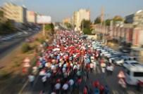 AHMET YıLDıZ - Viranşehir'de Teröre Lanet Yürüyüşü