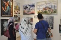 HAMDIBEY - Anneanne Ve Babaannelerin 'Renklerin Esintisi' Sergisi Açıldı