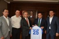 ERZURUMSPOR - BB Erzurumspor Kulübü, Cumhuriyet Başsavcısı İnal'ı Ziyaret Etti