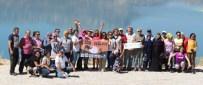 KANYON - Beyşehirli Ve Antalyalı Doğaseverlerden Ermenek'te Doğa Yürüyüşü Etkinliği
