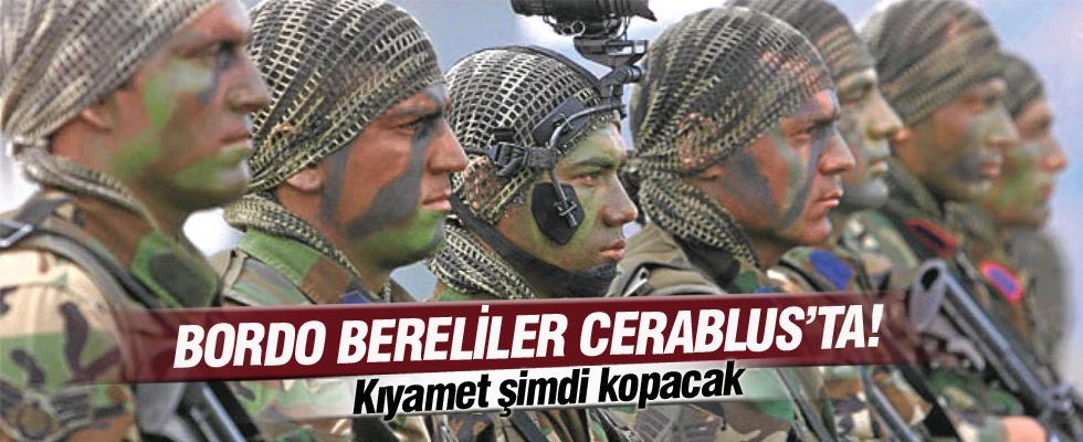 Bordo bereliler Cerablus'ta