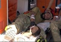 ERSİN ARSLAN - Cerablus'ta Yaralanan 3 ÖSO Askeri Gaziantep'e Getirildi