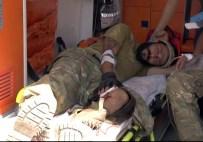 ERSİN ARSLAN - Cerablus'ta Yaralanan ÖSO Askerleri Türkiye'ye Getirildi