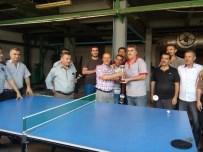 ÖMER ÖZCAN - Demokrasi Şehitleri Anısına Masa Tenisi Turnuvası Düzenlendi