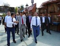 KATAR - Gökçek, Katar Heyeti İle Ankara Turu Yaptı