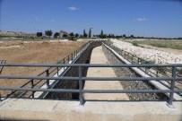 KANAL PROJESİ - Karaman'da Taşkın Suyu Önleme Projesinde Çalışmalar Devam Ediyor