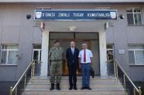 METIN KUBILAY - Kaymakam Kubilay'dan 3. Zırhlı Tugay Komutanı Candaş'a Hayırlı Olsun Ziyareti