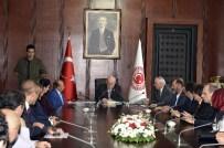 ANKARA KENT KONSEYİ - Kent Konseyi'nden TBMM Başkanı Kahraman'a Ziyaret