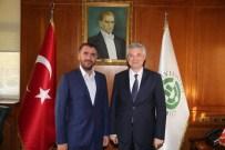 MEHMET ŞÜKRÜ ERDİNÇ - Milletvekili Erdinç Ve AK Parti İl Başkanı Yeni'den Rektör Kibar'a Hayırlı Olsun Ziyareti