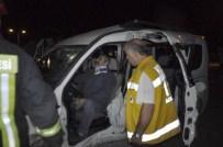 Seydişehir'de Trafik Kazası Açıklaması 3 Yaralı