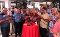 BIT PAZARı - Başkan Kocamaz, Zafer Çarşısı Esnafını Ziyaret Etti