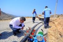 İŞ MAKİNASI - Bodrum İslâmhaneler'in Su Sıkıntısı Sona Eriyor