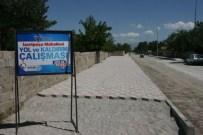 KALDIRIM ÇALIŞMASI - İzzet Paşa Mahallesinde Asfalt Ve Kaldırım Çalışmaları Devam Ediyor