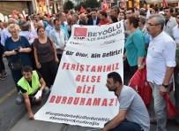 AHMET MISBAH DEMIRCAN - Kılıçdaroğlu'na Saldırı Protestosuna Başkan Demircan'dan Destek