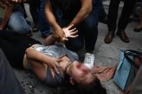 ALKOL SORUNU - Kriz geçiren kız arkadaşının suratına şişe fırlatıp 'Öl' diye bağırdı