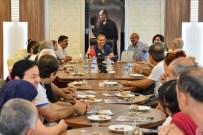 KAPALI ÇARŞI - Muhtarlar'dan Başkan Uysal'a Ziyaret