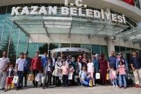 KAZANLı - Oltulular Kahraman Kazan'ı Ziyaret Etti