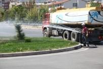 Seydişehir'de Yeşil Alanlar Sulanıyor