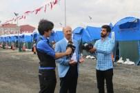 KESİM MERKEZİ - Sultangazi'deki Kurban Kesim Alanı Havadan Görüntülendi