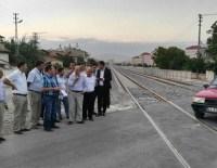 DEMİRYOLLARI - TCDD Yetkilileri Konya'da