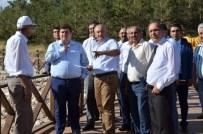 ALI ARSLANTAŞ - Vali Arslantaş, Ergan Dağı Kayak Merkezinde Yürütülen Çalışmaları Yerinde İnceledi