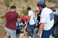 Vidanjör'den Atık Su Aktı, 11 Araç Kaza Yaptı