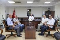 Yapımcı Tayfun Talipoğlu'ndan Başkan Şirin'e Ziyaret