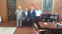 KÖLN - Avrupa Zonguldaklılar Derneği Genel Başkanı Karakulak Vali Kaban İle Bir Araya Geldi