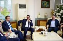 RıFAT HISARCıKLıOĞLU - Bakan Tüfenkci Ve TOBB Başkanı Hisarcıklıoğlu'dan Başkan Çakır'a Ziyaret