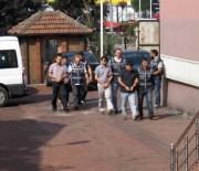 BARTIN EMNİYET MÜDÜRLÜĞÜ - Bartın'da 5 Kişi FETÖ Soruşturması Kapsamında Adliyeye Sevk Edildi