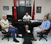 ENVER YıLMAZ - Enver Yılmaz'dan CHP'ye Geçmiş Olsun Ziyareti