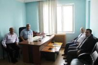 Eti Maden Genel Müdür Yardımcısı Hızır Ay'dan Başkan Çalışkan'a Ziyaret