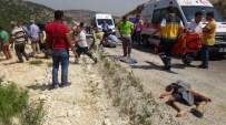 Hatay'da Minibüs Uçuruma Yuvarlandı Açıklaması 8 Ölü, 18 Yaralı