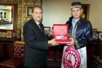 SALIH AYHAN - İl Özel İdaresi Genel Sekreteri Ayhan, Ahilik Onur Ödülünü Aldı