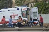 TRAFİK TESCİL - Tekirdağ'da Motosiklet Kazası Açıklaması 2 Yaralı