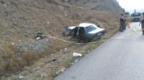 SULUCA - Tosya'da Meydana Gelen Trafik Kazasında 5 Kişi Yaralandı
