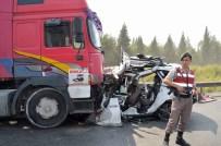 İLK YARDIM - Astsubay ve eşi kazada can verdi