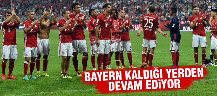 Bayern Münih, sezona farklı başladı