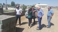 KALDIRIM ÇALIŞMASI - Bulanık Belediyesinin Parke Taşı Ve Kaldırım Çalışması
