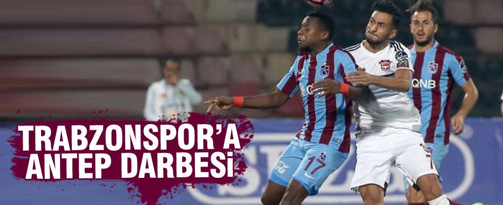 Gaziantepspor, Trabzonspor yendi