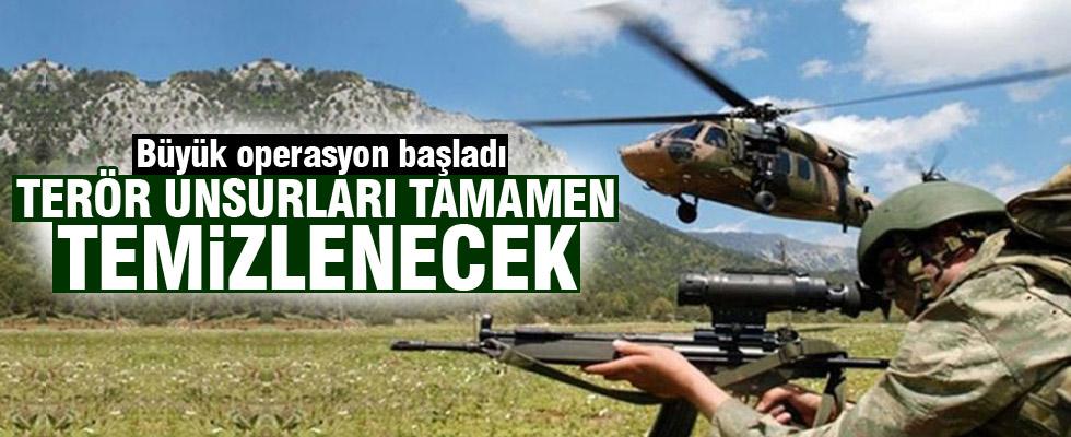 PKK'ya geniş çaplı operasyon