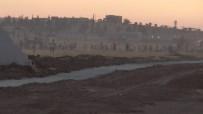 KOBANİ - Sınırda Duvar Gerginliği