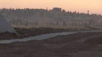 KOBANİ - Suriye Sınırında Duvar Gerginliği