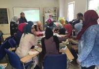 AKDEM'den Göçmen Kadınlara Eğitim Desteği