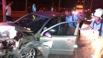 Burhaniye'de Kaza Açıklaması 2 Yaralı